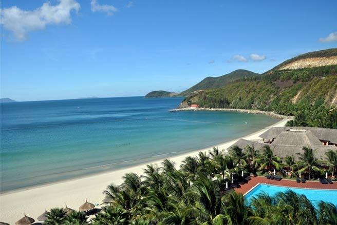Hon Tre island in Nha Trang, Khanh Hoa province, Vietnam