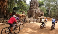 Biking in Siem Reap