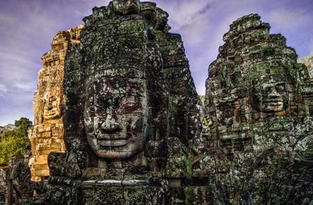 Rock Faces of Angkor Thom