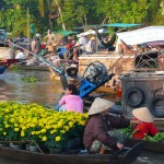 Cai Be Floating Market Slide
