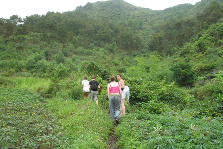 Trekking in Cat Ba National Park