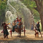 Myanmar Thingyan Water Festival