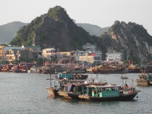 Cai Rong town, Van Don island district, Quang Ninh province, Vietnam