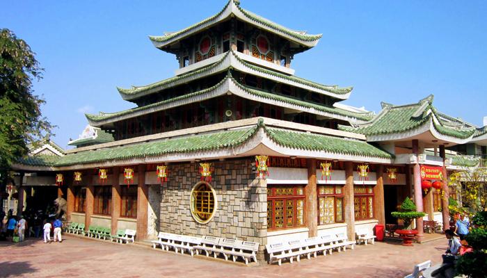 Ba Xu Pagoda in Chau Doc, North of Vietnam