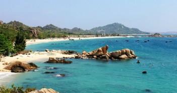 The panorama of Binh Ba Islands