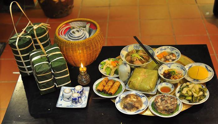 Vietnamese New Year  Foods