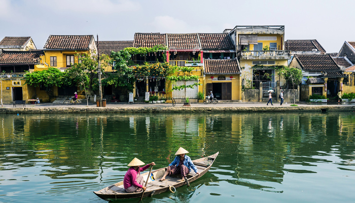 Mild climate in Hoi An