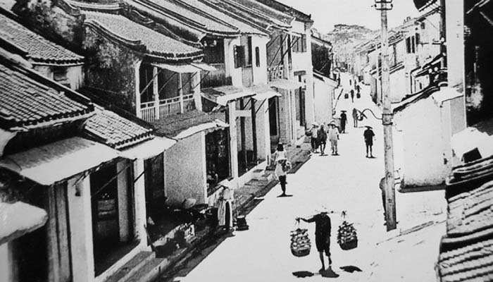 Quang Dong Street, Now Nguyen Thai Hoc Street in Hoi An