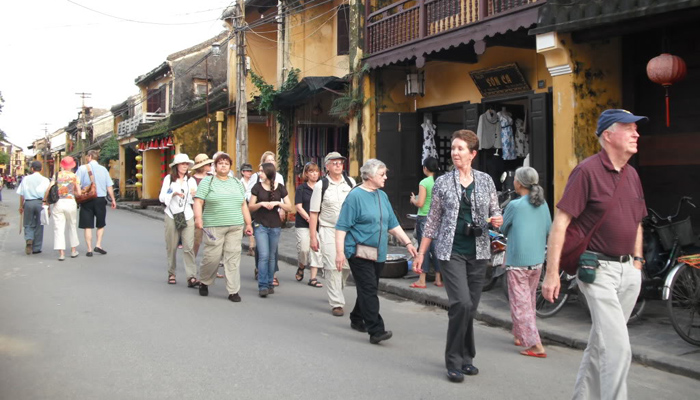 Walk through Hoi An Ancient Town's streets
