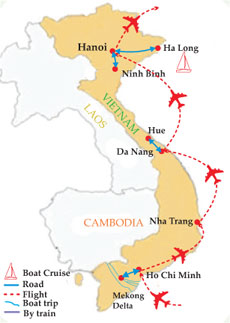 17 Days Wow Vietnam!