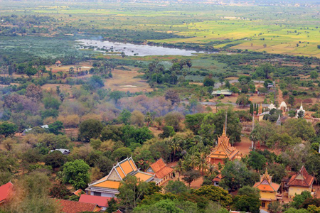 Ancient capital of Udong, Cambodia