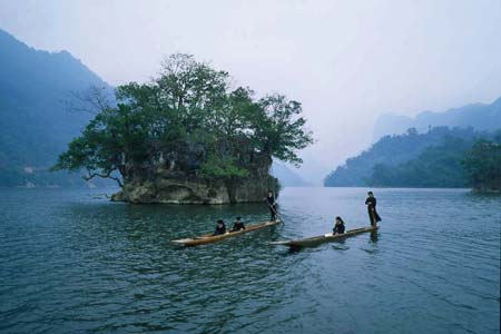 Ba Be Lake, Bac Kan Province