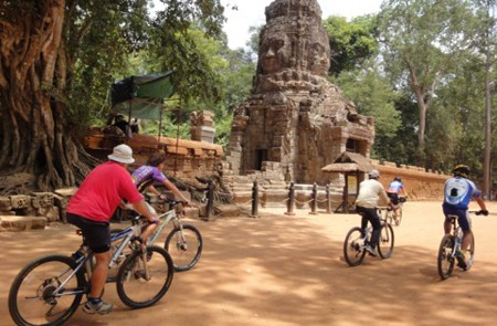 Biking in Siem Reap