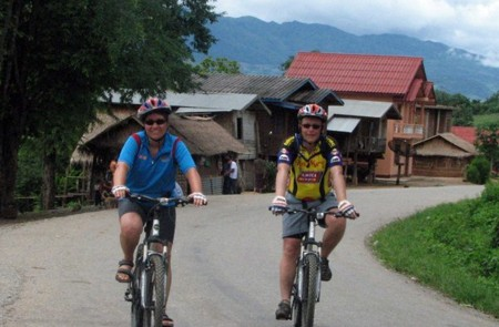 Cycling in Kontum
