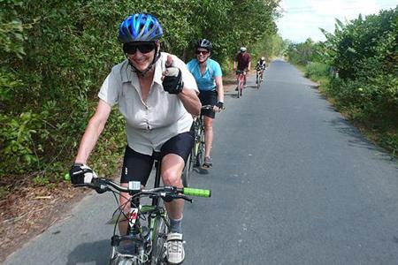 Cycling to Mui Ne