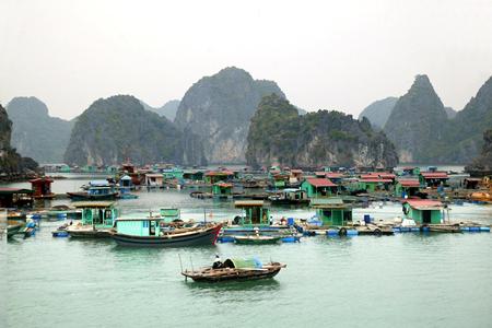 Floating Village of Van Gia