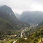 Hmong Village road to Dong Van