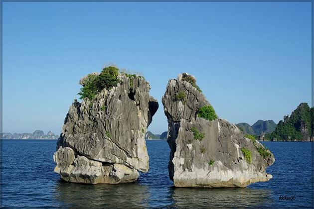 Incense Bowl Islet Halong Bay