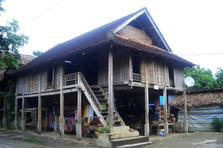 Local house in Pom Coong Village, Mai Chau