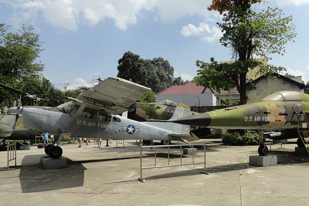 Museum of War Remnants in saigon
