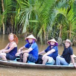 Have a boat ride on the Mekong in My Tho Tour