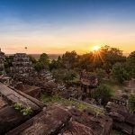 Phnom Bakheng sunset vietnam and cambodia tour 21 days
