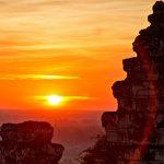 Phnom Bakheng sunset vietnam and cambodia tour in 16 days