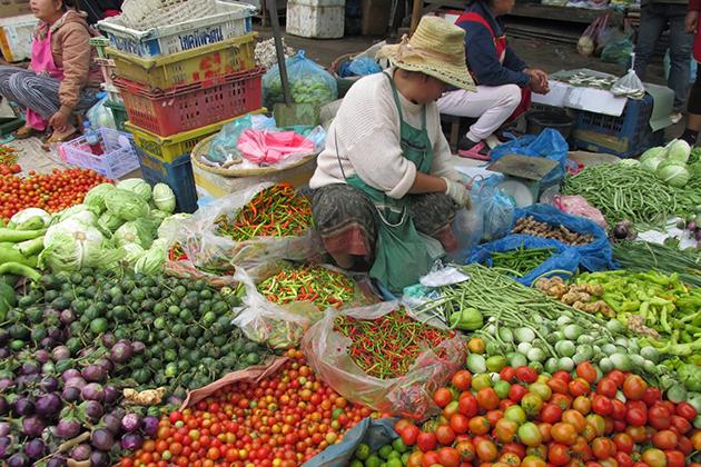 Phousi Market luang prabang