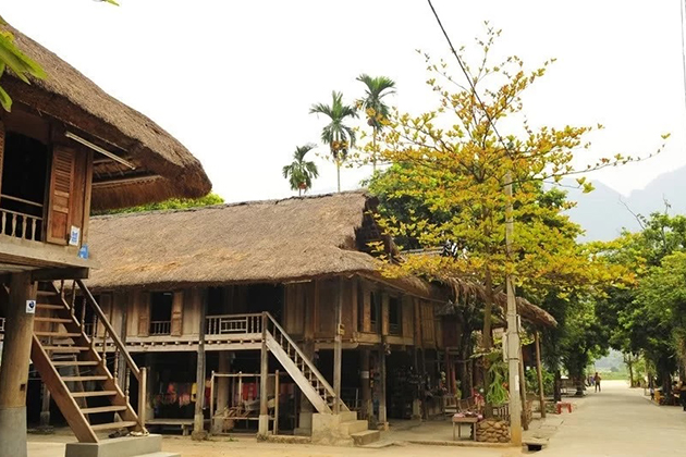 Pom Coong village in mai chau