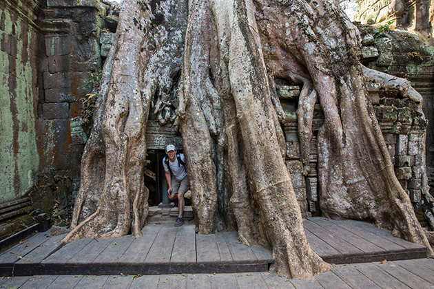 Ta Prohm in siem reap