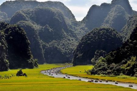 Tam Coc, Ninh Binh Province, Vietnam