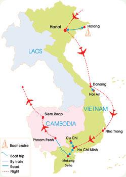 Vietnam and Cambodia Summer tour - 19 Days
