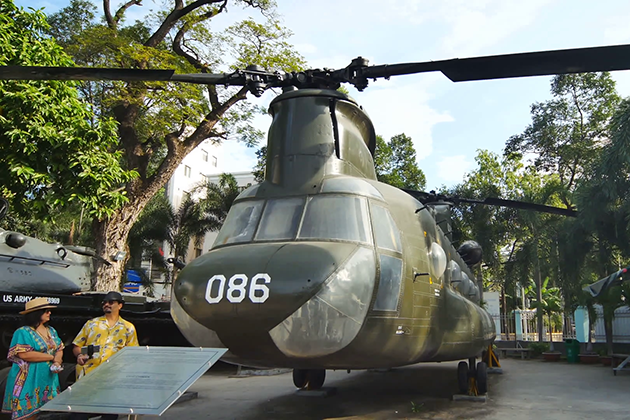 War Remnant Museum in saigon