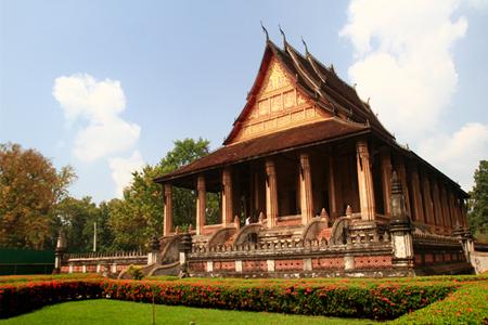 Wat Prakeo in Vientiane