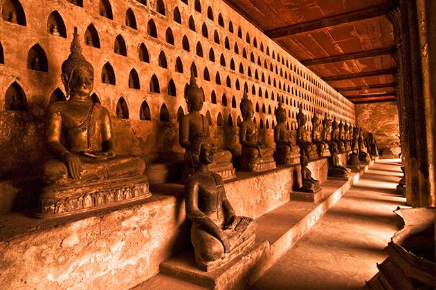 Wat Sisaket vientiane 6-day laos tour