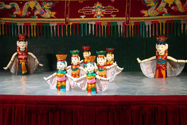 Water Puppet Show in Hanoi Vietnam Tour