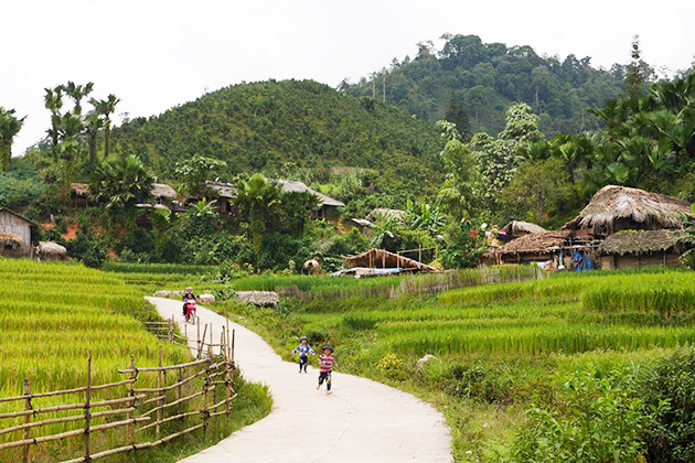 ban pho village sapa