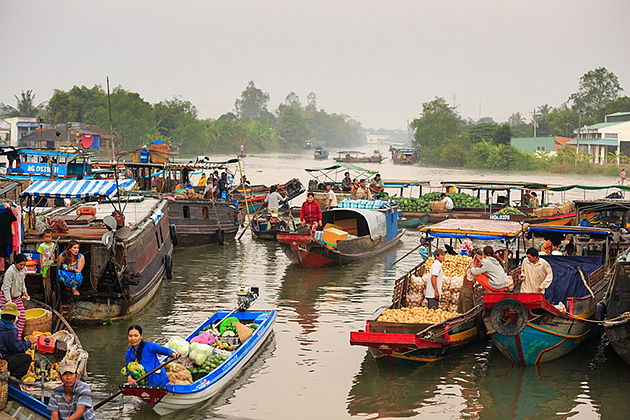 cai be floating market mekong delta tour 5 days 4 nights