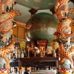 cao dai temple in tay ninh family tour in vietnam