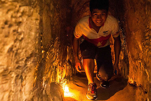 cu chi tunnel ho chi minh city tour package