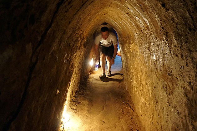 cu chi tunnel tour half day
