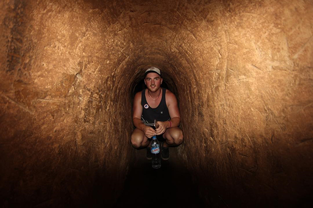 cu chi tunnels saigon tour