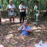 cu chi tunnels southern vietnam tour