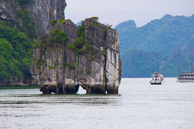 halong bay vietnam tour from north to south