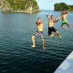 halong bay swimming halong bay tours