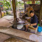 making rice paper mekong delta tour