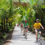 mekong delta cycling tour 5 days 4 nights