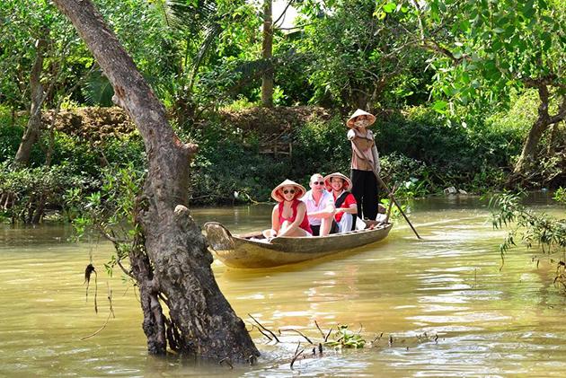 mekong detla boat tour