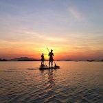 sunrise at cua dai beach hoi an tours