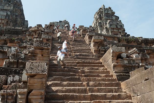 takeo temple siem reap cambodia tour